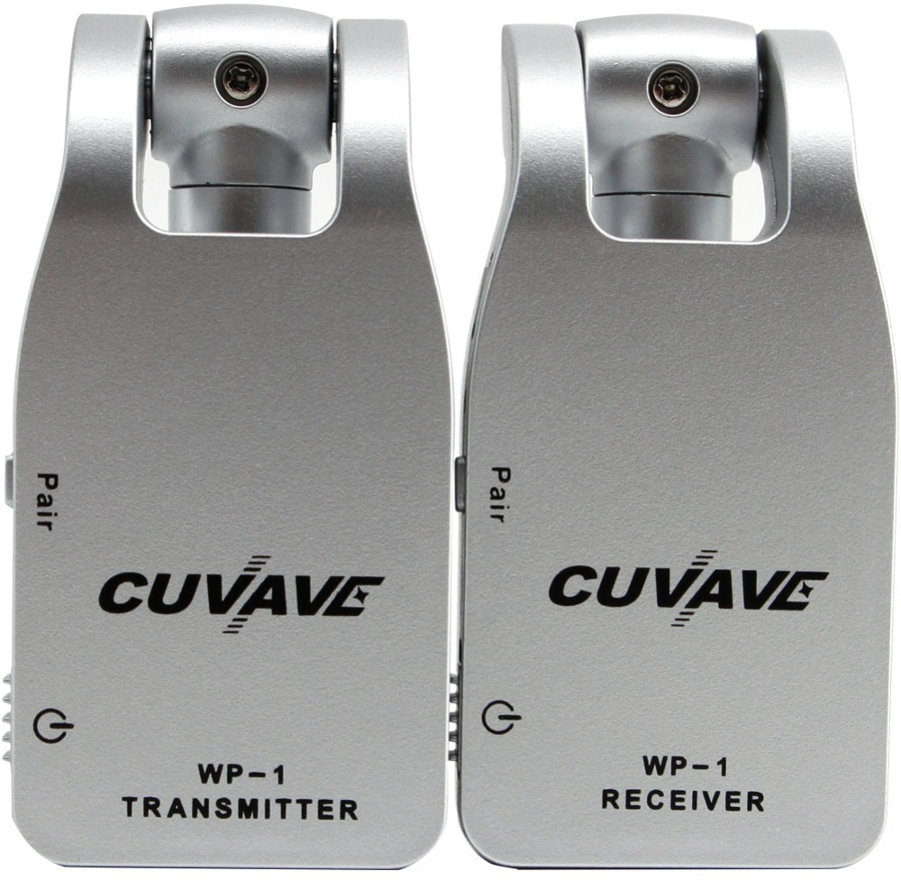 2019 CUVAVE WP 1 2 4G Wireless Guitar System Transmitter Receiver Built in Rechargeable Lithium