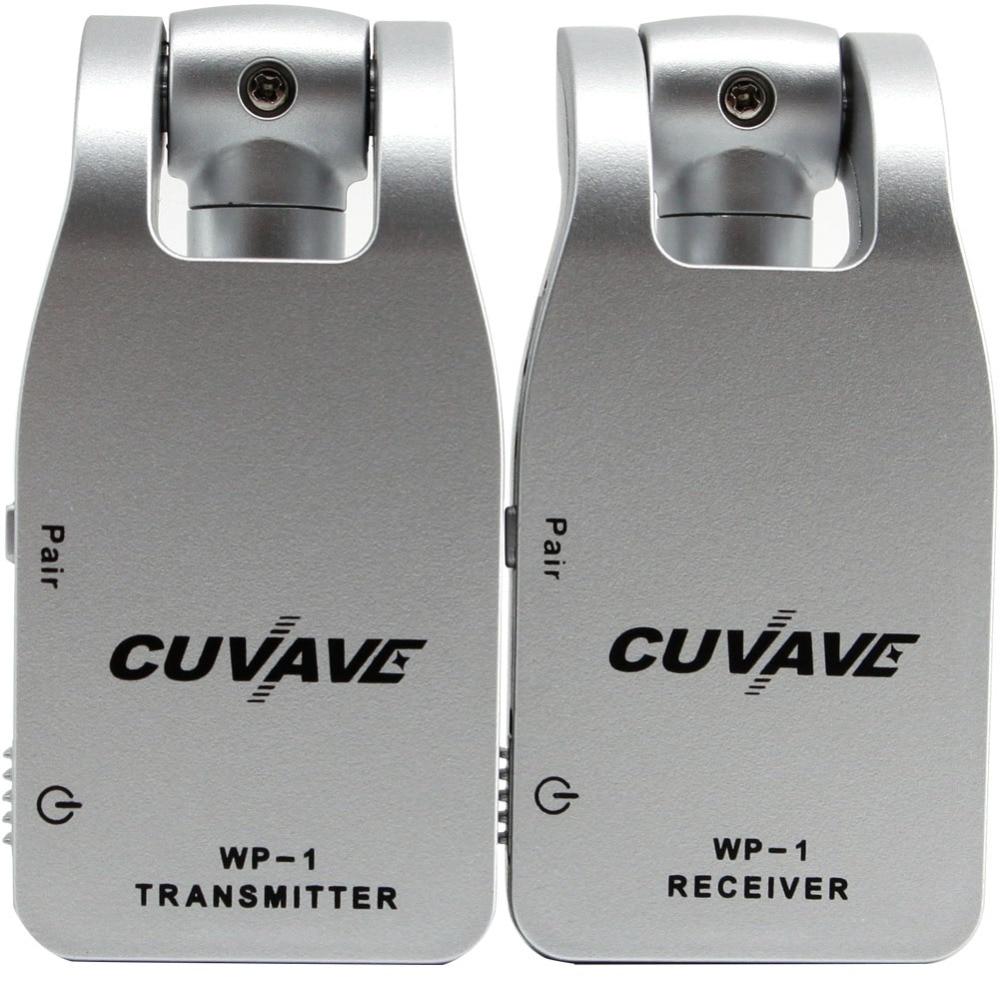 2019 CUVAVE WP-1 2.4G Sans Fil Guitare Système Émetteur et Récepteur Intégré Rechargeable Au Lithium