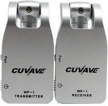 2019 CUVAVE WP-1 2,4 г беспроводная гитара система передатчик и приемник Встроенный перезаряжаемый литиевый