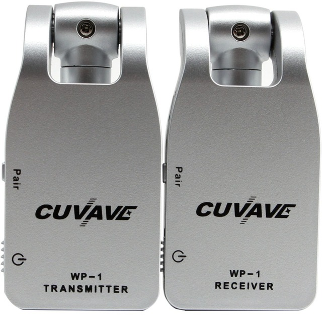 2019 CUVAVE WP-1  2.4G Wireless Guitar System Transmitter & Receiver Built-in Rechargeable Lithium