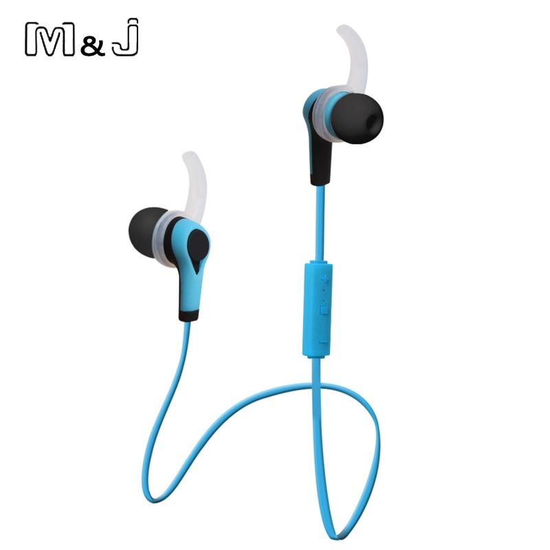M & J Yeni Kablosuz Kulaklık Auriculares Bluetooth Stero Kulakiçi - Taşınabilir Ses ve Görüntü - Fotoğraf 4