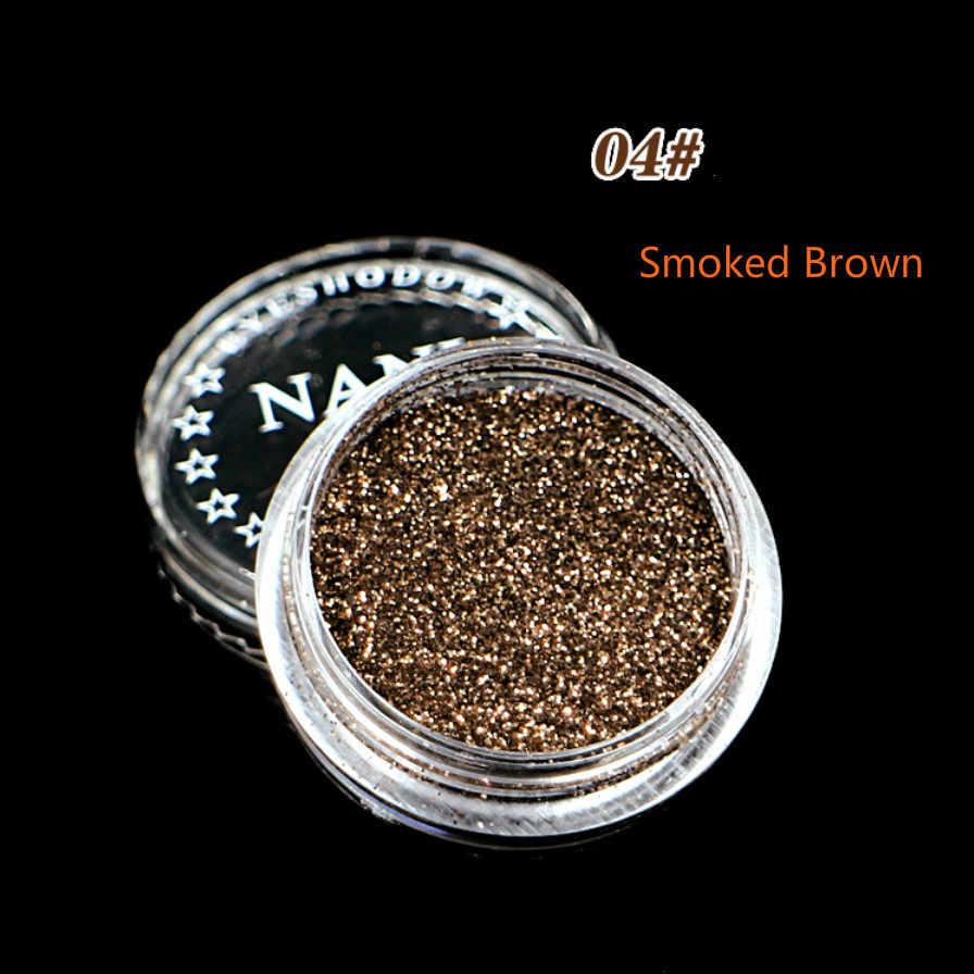 1 زجاجة سموكيد براون 23 لون الكحل السائل قلم رصاص مقاوم للماء طويلة الأمد قلم تحديد العين السلس ماكياج كوميستيك عينيه