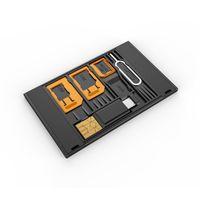 OTG кард-ридер сим-карты Адаптеры рукав снижение нано сим-карты на большую карту мобильный телефон кронштейн