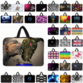 Unique Unisex Neoprene Bag Fit 7 10 12 13 14 15 17 Laptop Brand Viviration Notebook Sleeve Carry Cases For Macbook Acer Thinkpad