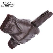 JOOLSCANA font b leather b font font b gloves b font for font b men b