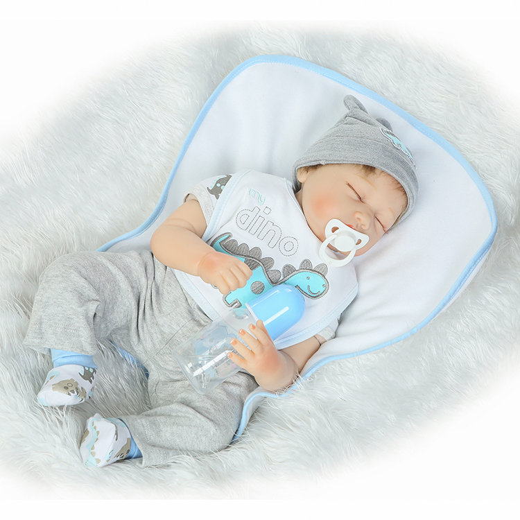 22 Bebe boy reborn dolls real sleeping newborn babies silicone baby dolls reborn soft cloth body bonecas for child gift22 Bebe boy reborn dolls real sleeping newborn babies silicone baby dolls reborn soft cloth body bonecas for child gift