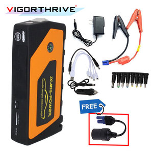 High Quality 12V Portable Mini car Jump Starter Jumper Booster Power Mobile Phone Laptop Power Bank Battery Charger hot sale