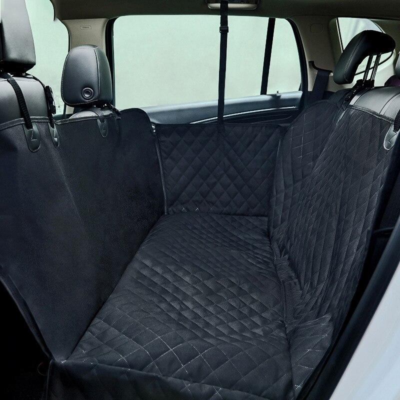 รถสัตว์เลี้ยงสุนัขกระเป๋าสุนัขเบาะที่นั่งด้านหลังกลับปกคลุมกันน้ำ Anti   slip รถพับได้เสื่อสีดำ Hammock80-ใน กระเป๋าใส่สุนัข จาก บ้านและสวน บน AliExpress - 11.11_สิบเอ็ด สิบเอ็ดวันคนโสด 1