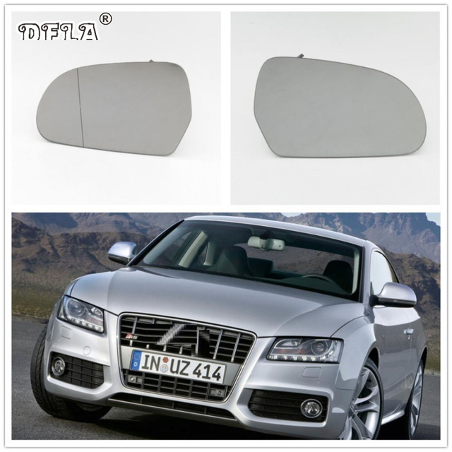 Heated Mirror Glass For Audi A5 S5 Spoterback 2008 2009 2010 2011