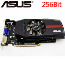 ASUS Video Card HD 7850 1GB 256Bit GDDR5 Graphics Cards for ATI Radeon HD7850 VGA Cards Used Equivalent GTX 750 Ti GTX 650 750(China)