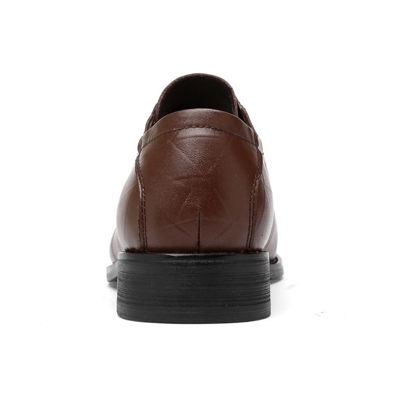 Apontou brown black Formal Vestido Fivela Black Negócios Toe Couro Buckle Cinta Sapatos De Genuíno Size Buckle Luxo brown Lace Elegância Valstone Derby Plus Lace Dos Homens qfwRnPWBx