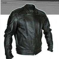 Free Shipping Men PU Jacket Professional Racing Jacket Motorcycle Jacket Motorcycle Delivery 5 Sets Of Protective