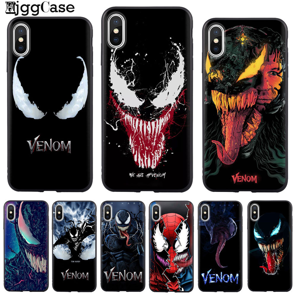 new product bd525 dabca US $0.77 40% OFF|Venom Case For Apple iPhone X Soft Silicone Phone Case  Cover Shell For Apple iPhone 8 5 5S SE 6 6S 7 8 Plus X XS XR XS MAX-in  Fitted ...