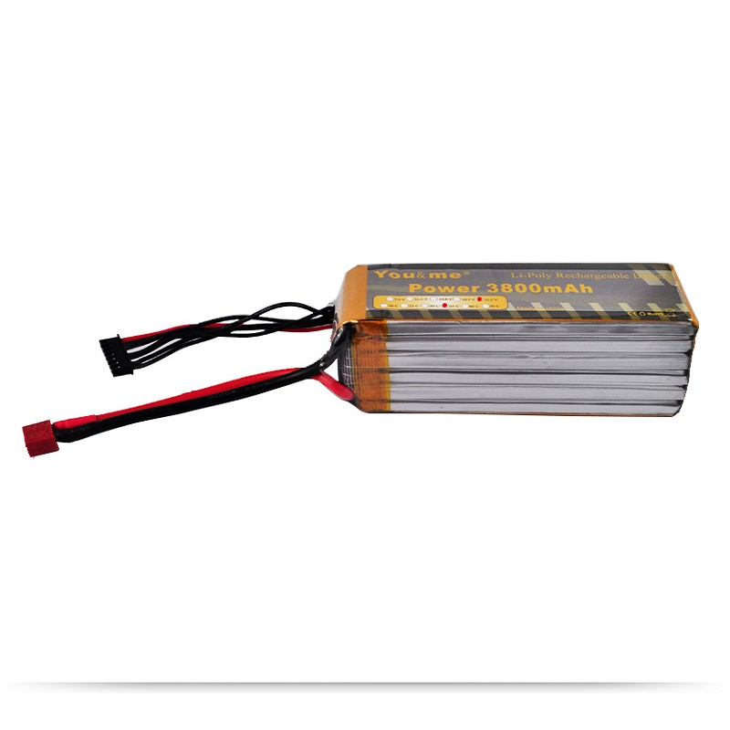 You&me RC Lipo Battery 3800MAH 22.2V 35C AKKU LiPo RC Battery For RC Helicopter Boats Cars Quadcopter 6S обогреватель me you