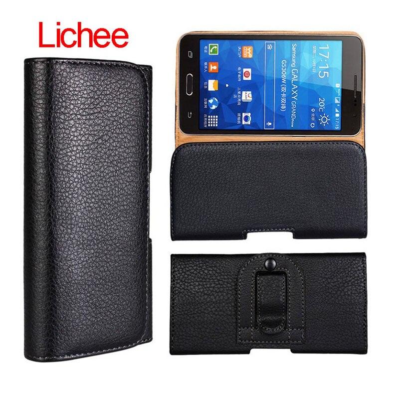 Leather Waist Bag Clip Belt Pouch Mobiles