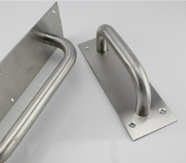 Stainless steel door handle knob signs shake handshandle ...
