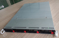 1U hot plug chassis industrial control chassis high end storage server chassis 650 deep 1U4 disk computer case