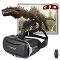 2016 Google Картон VR Shinecon2.0 КОРОБОЧНОЙ Версии Виртуальная Реальность 3D Очки + Smart Bluetooth4.0 Беспроводной Пульт Дистанционного Управления Геймпад