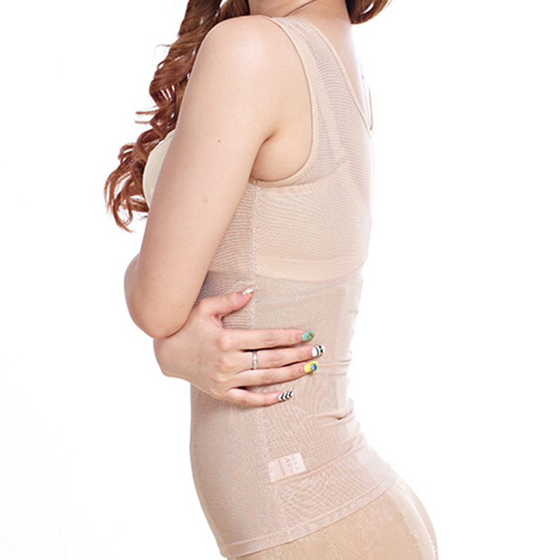 5fe84feaabbaf Waist Back Support Shapewear Mesh Breathable Back Brace Women Slimming Body  Shaper Waist Cincher Postpartum Corset-in Braces   Supports from Beauty    Health ...