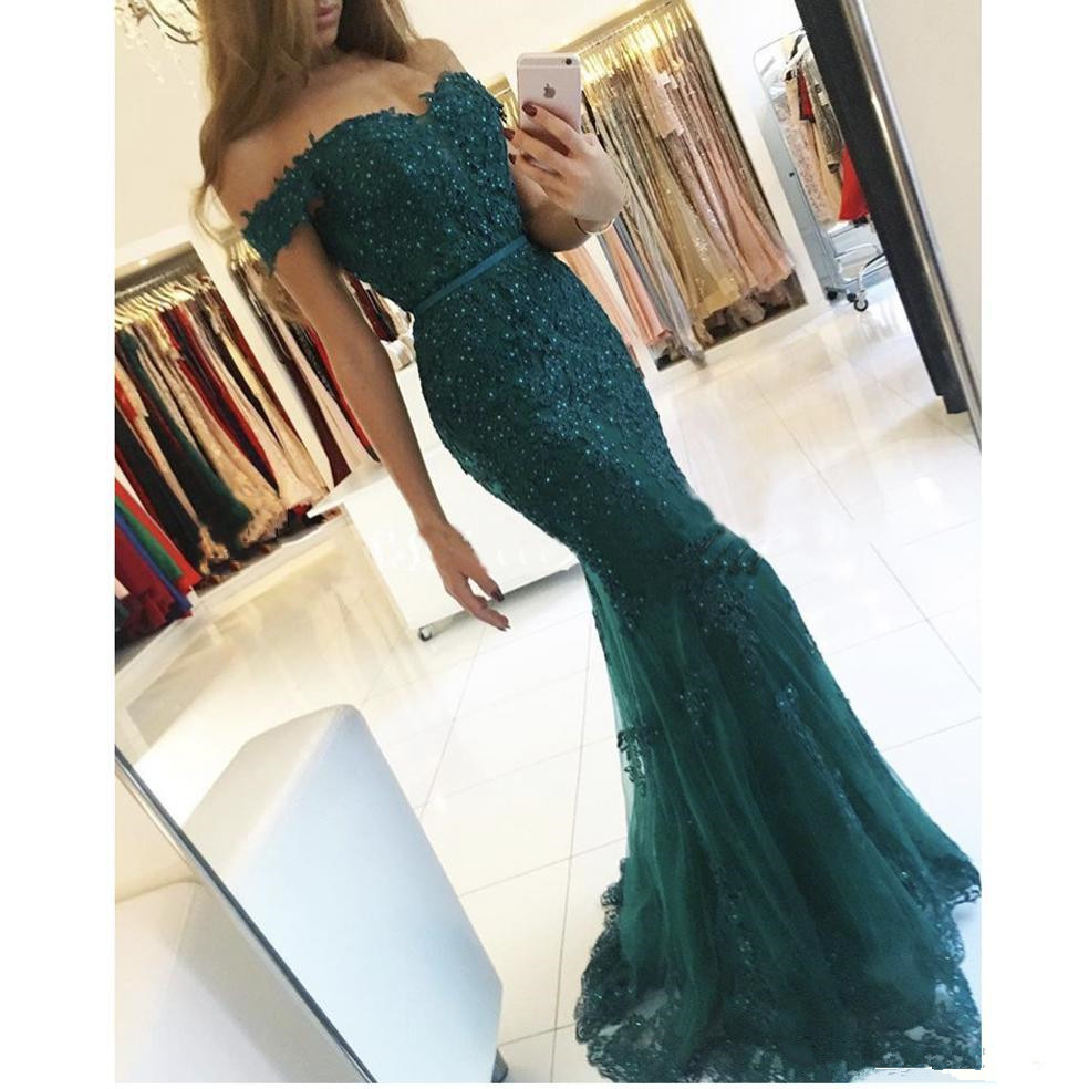 Hunter Formal   Evening     Dress   2018 Mermaid Prom   Dress   Sweep Train Celebrity Gowns Vestido D