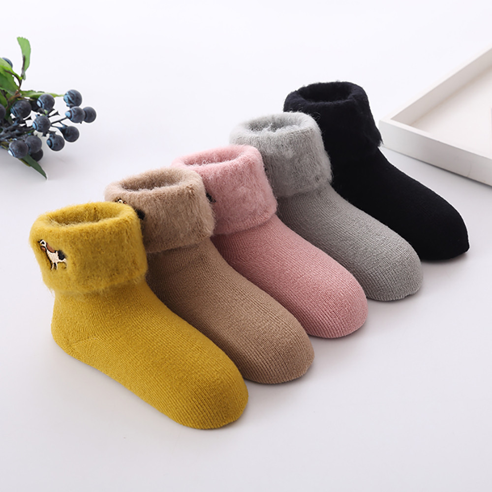 MUQGEW baby socks winter socks 5Pair Baby Boy Girl calcetinCotton Children Floor meias infantiAnti-Slip Baby Step Item specifics