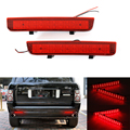 Отражатель заднего бампера Niscarda 2x, светодиодный светильник для заднего бампера, торможения, противотуманной обшивки, торцевая лампа для Land ...