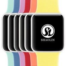 Colorido Suave Silicone Substituição Relógio Banda Esporte Para 42mm Maçã Series1 2 42mm Pulseira De Pulso Strap Para Apple edição esportes