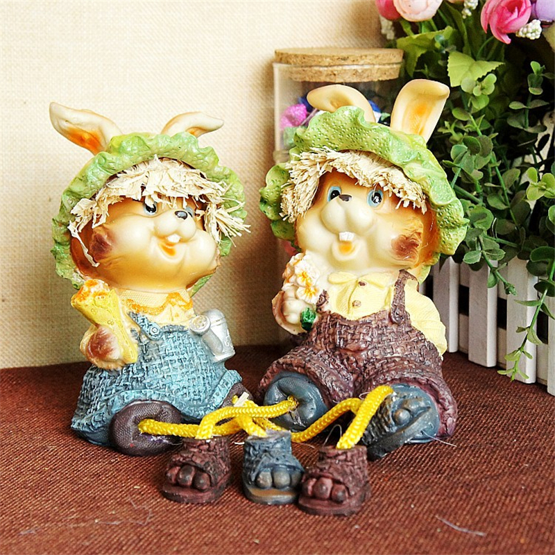 Ornament Figurine Pure Copper European Resin Hanging Feet Doll Ornaments Home Crafts Hanging Legs Doll Decoration