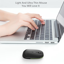 Seenda 2.4G wireless mouse USB Receiver ultra thin Slim Mini Wireless Optical Mouse Mice for Laptop PC Optical Gaming Mouse