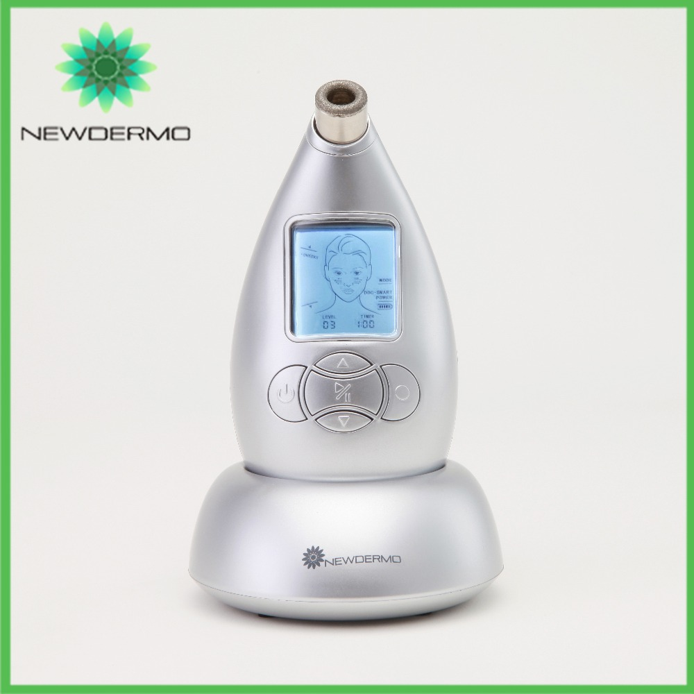 Silver 2017 NEWDERMO Diamond Dermabrasion Machine Remove Wrinkles Eye Bags Skin Beauty Exfoliating best selling 2017 products newdermo skin diamond dermobrasion machine