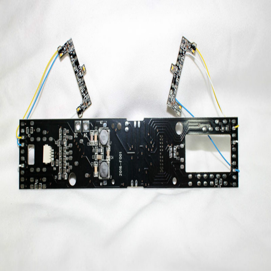 2pcs/lot HO train accessories IC PCB circuit board Compatible with each brand 1/87 ratio With sound and light upgrade