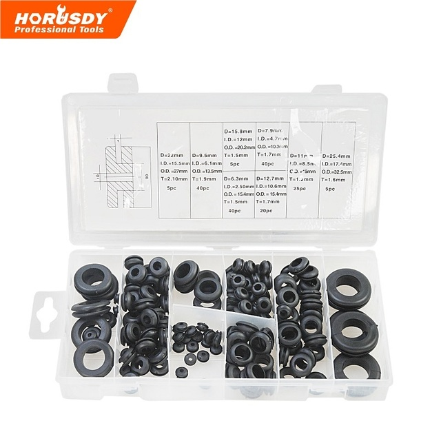 New tool 8 Sizes 180 x Rubber O Ring O Ring Washer Seals Assortment ...