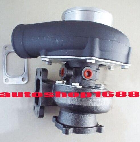 GT3582-13 GT35 GT3582 черный/R.70 компрессор анти-всплеск A/r 0,63 T3 фланец 4 болтов воды и масляным охлаждением журнал подшипник