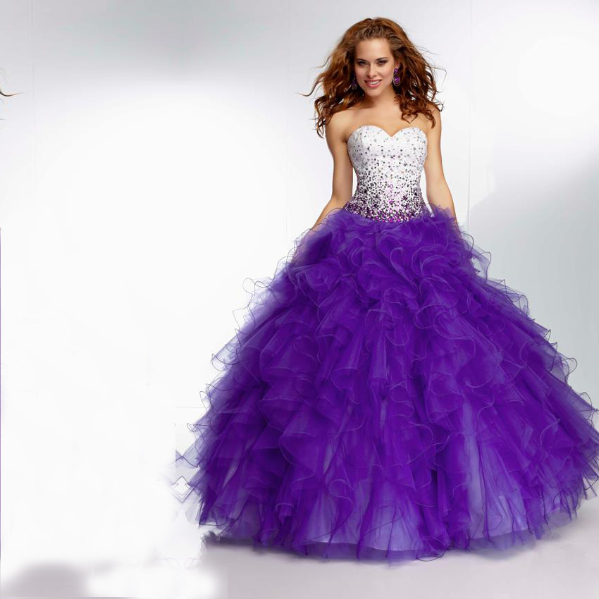 High Quality Quinceanera Dresses Purple-Buy Cheap Quinceanera ...