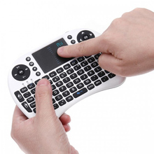 2.4G Rii Mini i8 Wireless Keyboard Multifunction Backlit Keyboard with Touchpad for Smart TV, Android TV, Box, PC phone