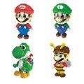 Big Size 20 cm Super Mario Mini Blocos Blocos do Ponto Micro DIY Brinquedos de Construção de Competir com Legoes Bonito Figuras de Ação Crianças presentes