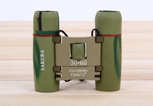 Camping Travel monocular 30×60 Telescope Mini Outdoor 126m/1000m Folding Binoculars hunting Telescope
