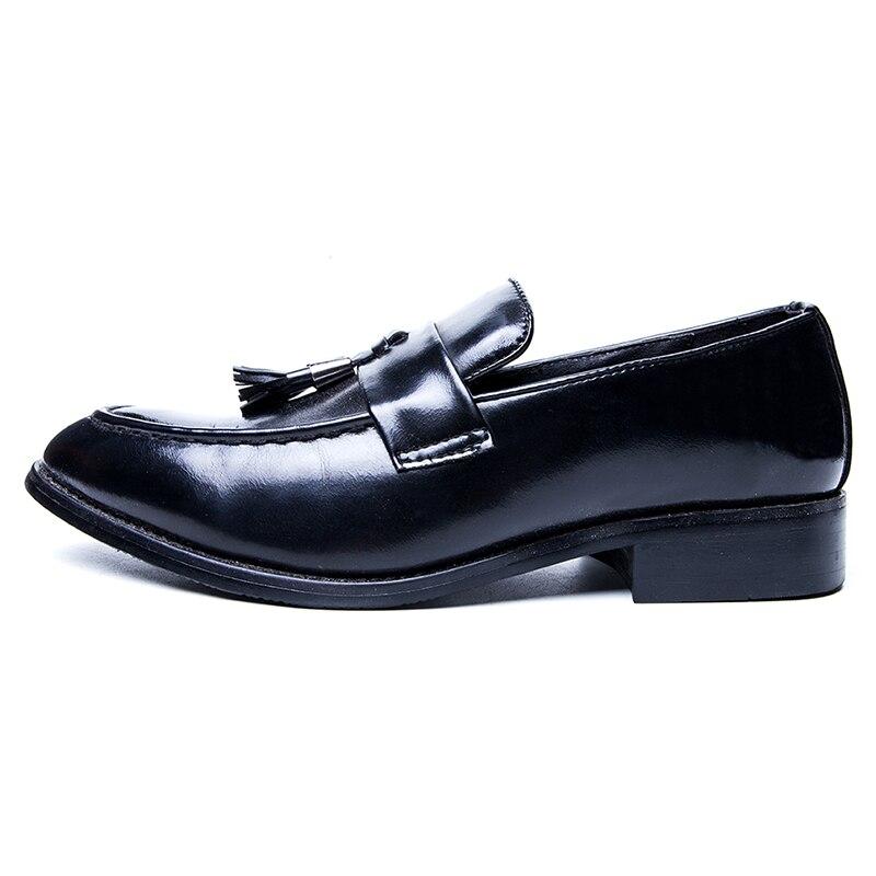 Color on Gland Respirant Oxford Partie Bout De Sapatos Mode Conduite Nouveau Chaussures picture Picture Paresseux En Pointu Hommes Slip Souple Cuir Mariage Color Mocassins x7XP4wgZqT