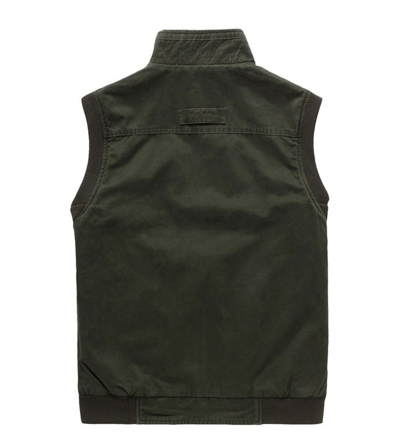 M~3XL 2015 Autumn Spring Reversible Casual Men Vest Coat AFS JEEP Cotton Pocket Cargo Outdoor Sleeveless Jackets Waistcoat Vests (11)