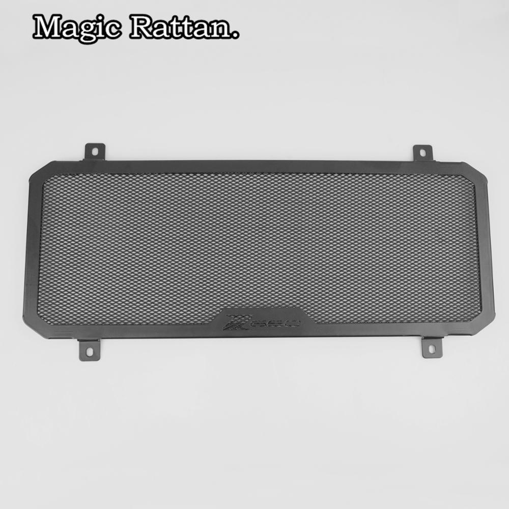 For Z650 2017 Motorcycle Simple Radiator Grille Guard Cover Protector & Oil Cooler Cover motorcycle radiator grill grille guard screen cover protector tank water black for bmw f800r 2009 2010 2011 2012 2013 2014