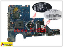 original For HP COMPAQ G42 G62 CQ42 CQ56 G56 CQ62 CQ64 Intel 478 LAPTOP MOTHERBOARD 605140-001 DA0AX3MB6C1 100% Test ok