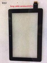 R & U тест хорошо 11.6 «сенсорный Экран панели Дигитайзер внешний экран 5424 P FPC-4 длинный кабель версия для ASUS TX201 TX201L notebook pc