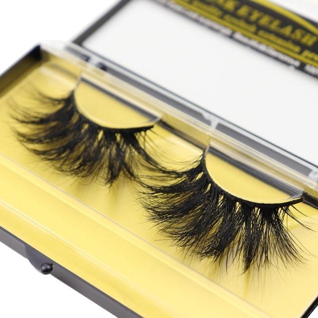 DOCOCER Lashes 3D Mink Eyelashes Handmade Mink Lashes 25mm cruelty-free Lightweight False Eyelashes  Dramatic Lashes Makeup D804 3