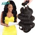 Bela Suave Malásia Humano Virgem Hair50g/Bundles Cor Natural Malásia Corpo Wave7A Grau Frete Grátis Onda Do Corpo de Extensão