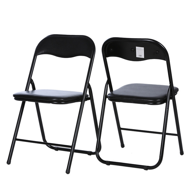 3pcs/lot Fashion simple conference chair computer chair home office foldable backrest chair economic model