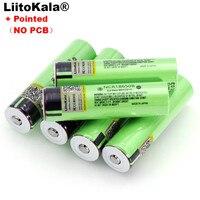 Liitokala nouvelle batterie Rechargeable au Lithium NCR18650B 3.7v 3400 mAh 18650 avec piles pointues (sans PCB) Batteries rechargeables    -