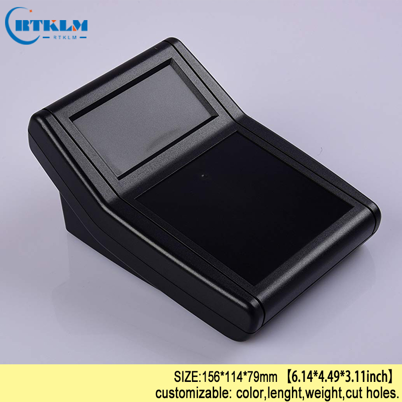 цена на DIY junction box enclosure custom electronic box ABS plastic enclosure instrument case handheld enclosure 156*114*79mm 1piece