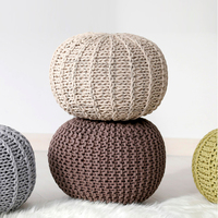 InYard Strict Selection minimal Nordic creative knitted bean bag chair