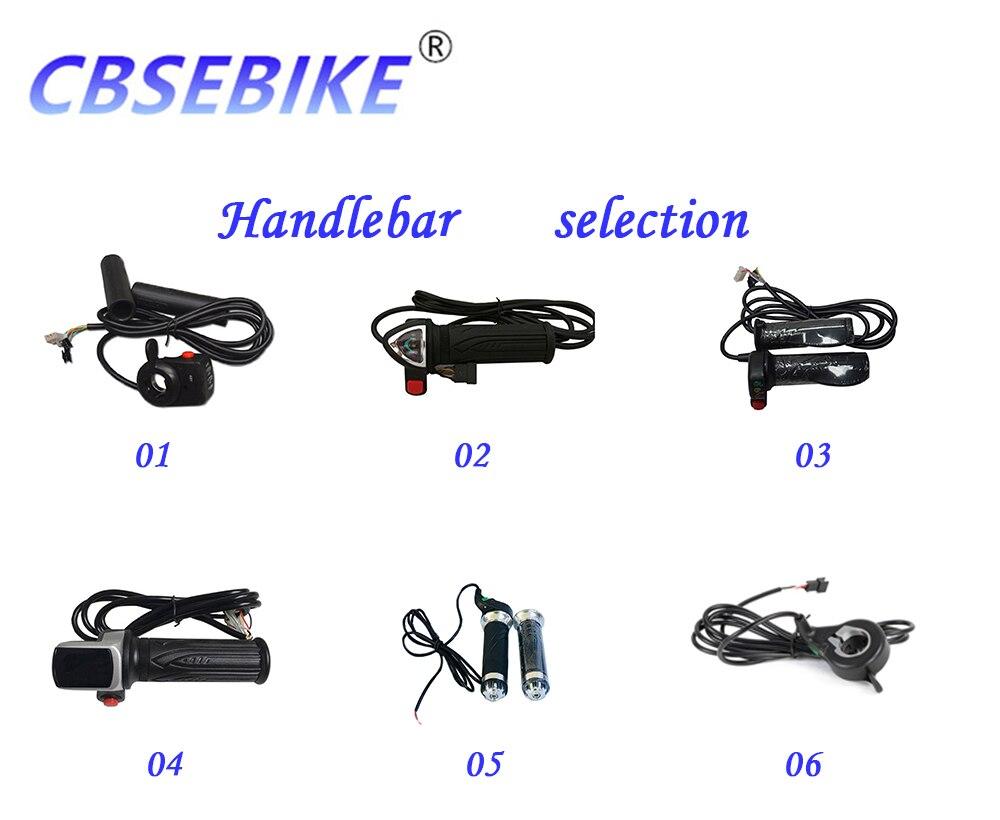 roda de alta velocidade kit conversão hub ebike kit QDC02-26