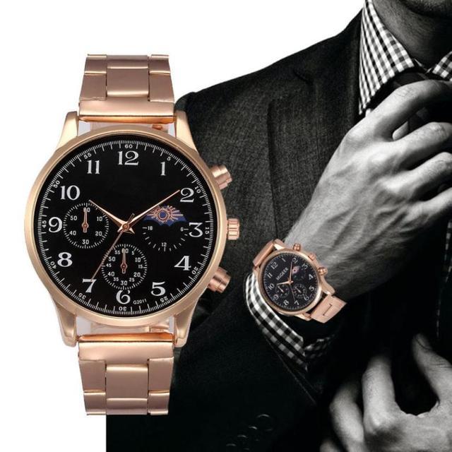 MIGEER relojes de marca de lujo hombres negocios pulsera de cristal de  acero inoxidable analógico cuarzo f0f2a6dd0fe3